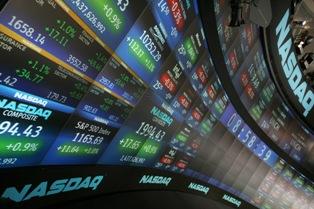 NASDAQ Stock Market screens