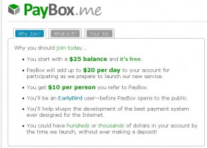 PayBox.me screenshot