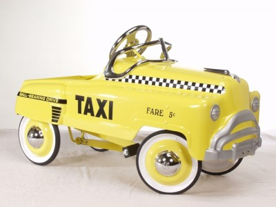Yellow Taxi Toy