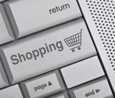 Shopping button on keyboard