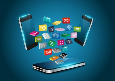 Mobile Phone Applications Icon