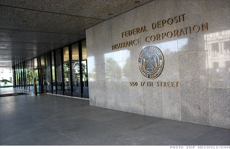 Federal deposit insurance corporation front face building