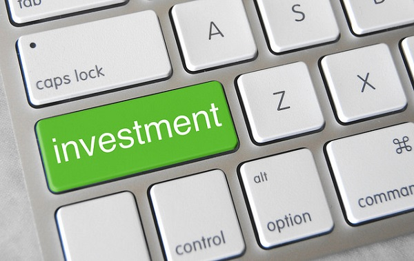 investment green button on keyboard