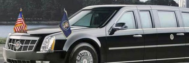 The 'Beast', U.S. Presidential State Super Safe Limousine
